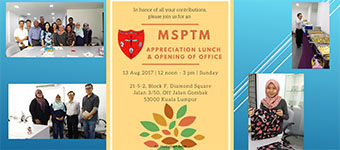 MSPTM Lunch at Diamond Square Office