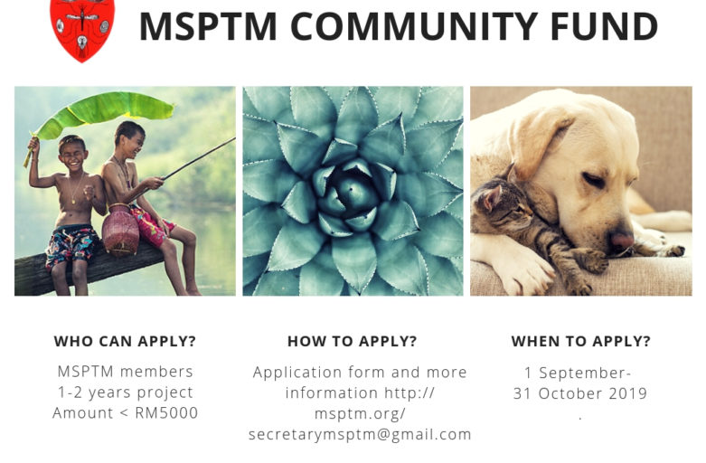 MSPTM Community Fund 2019 – Call for Application