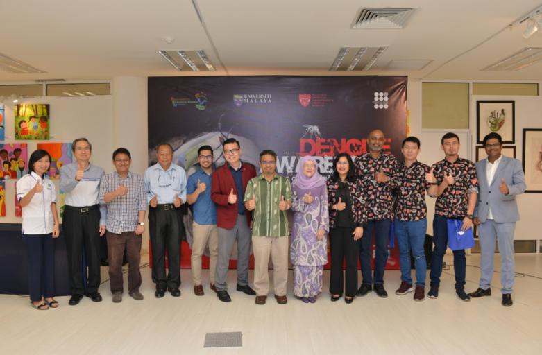 Dengue Awareness Drawing Competition & Exhibition 2019 30 November 2019 Universiti Malaya Art Gallery