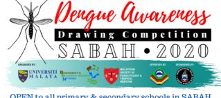 Dengue Awareness Drawing Competition – SABAH 2020_post